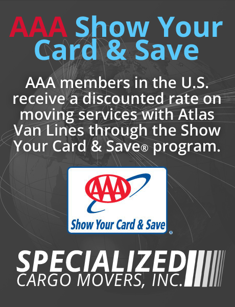 AAA receive a discount on your move